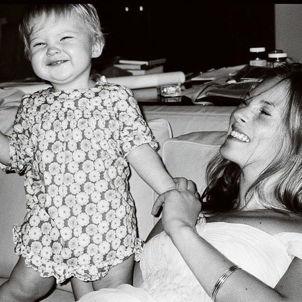 Kate Moss' daughter Lila Grace, 18, shared a cute throwback snap on her mum's 47th birthday