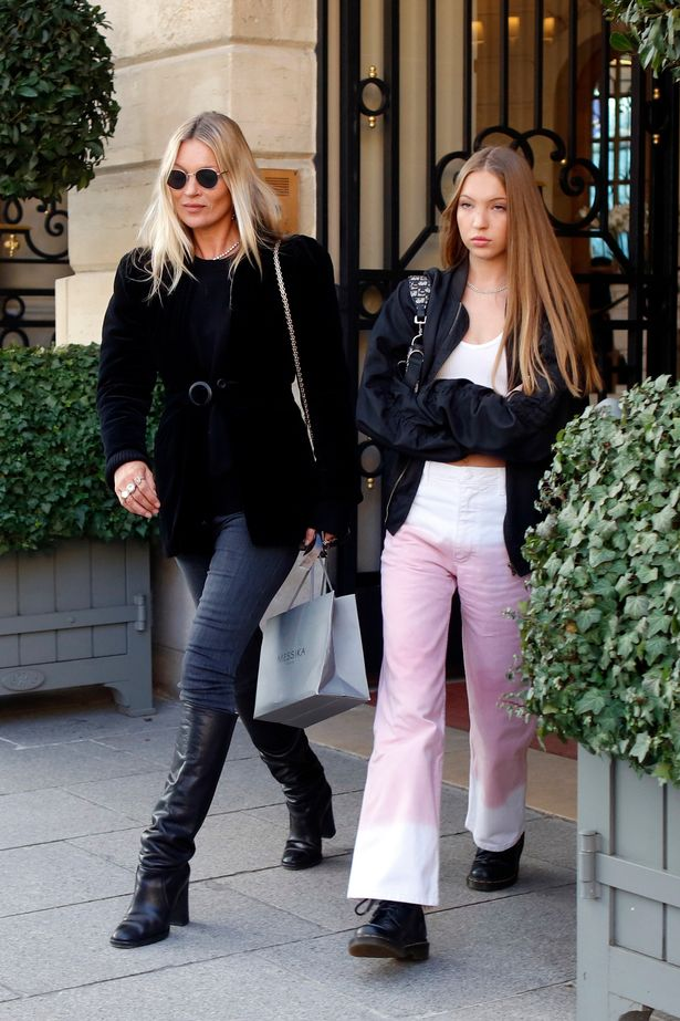 Today Kate Moss is the epitome of healthy living, three years sober and focused on a new goal - guiding daughter Lila Grace's fledgling career; the two are seen last year