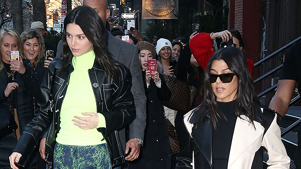 Kendall Jenner & Kourtney Kardashian Stun In Sexy New Pics Amid Kim's Marriage Drama