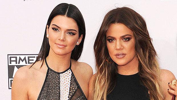 Khloe Kardashian Posts Mirror Selfie In Good American Sweats & Fans Think She Looks Just Like Sister Kendall