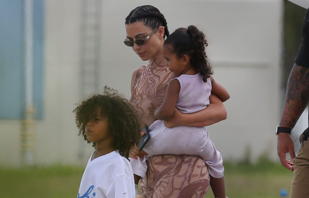 Kim Kardashian's eldest son grabbed the scissors and cut his hair! | The State