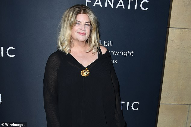 Kirstie Alley comes under fire for comparing Trump's Twitter ban to SLAVERY