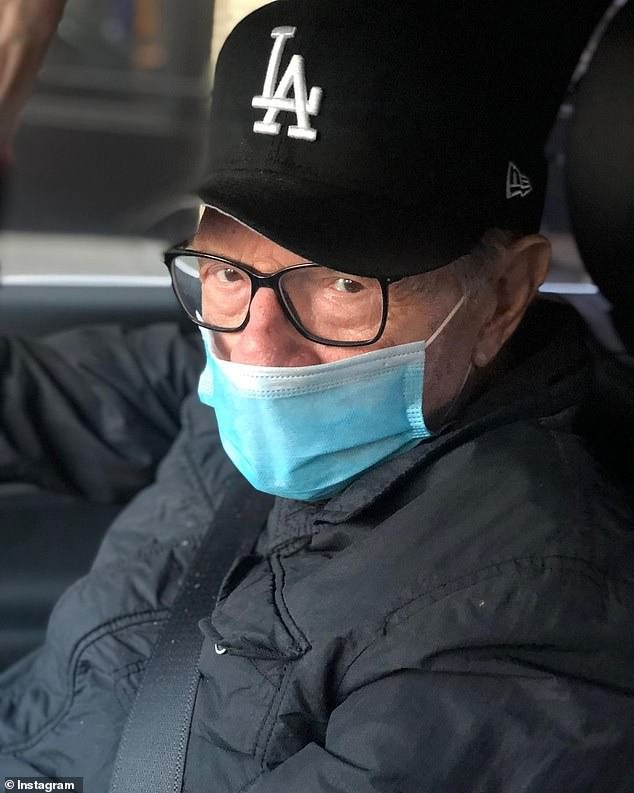 Larry King, 87, 'is in Los Angeles hospital with COVID-19'