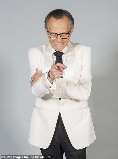 Larry King, the celebrated television and radio host, died on Saturday at the age of 87