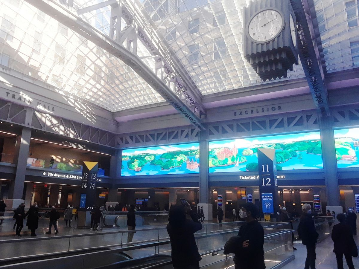 "Latino suicide tarnishes the applauded remodeling of Penn Station, New York's ""Cinderella"" station The State"