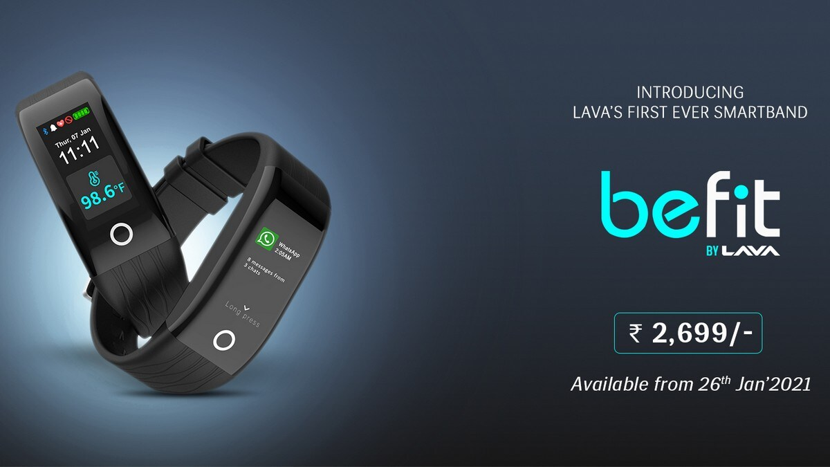 Lava Launches BeFIT Fitness Band and Zup Phone Upgrade Programme