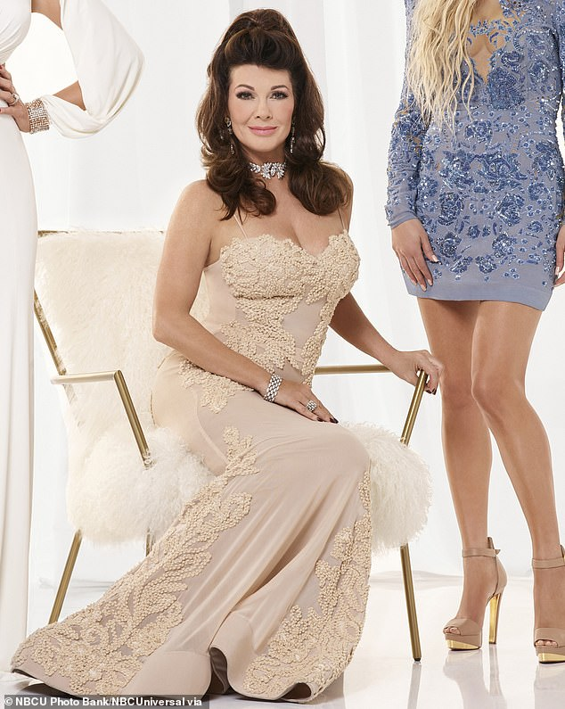 Lisa Vanderpump, 60, is in therapy and on meds for depression