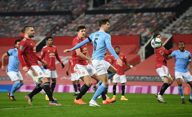 John Stones gave Manchester City the lead