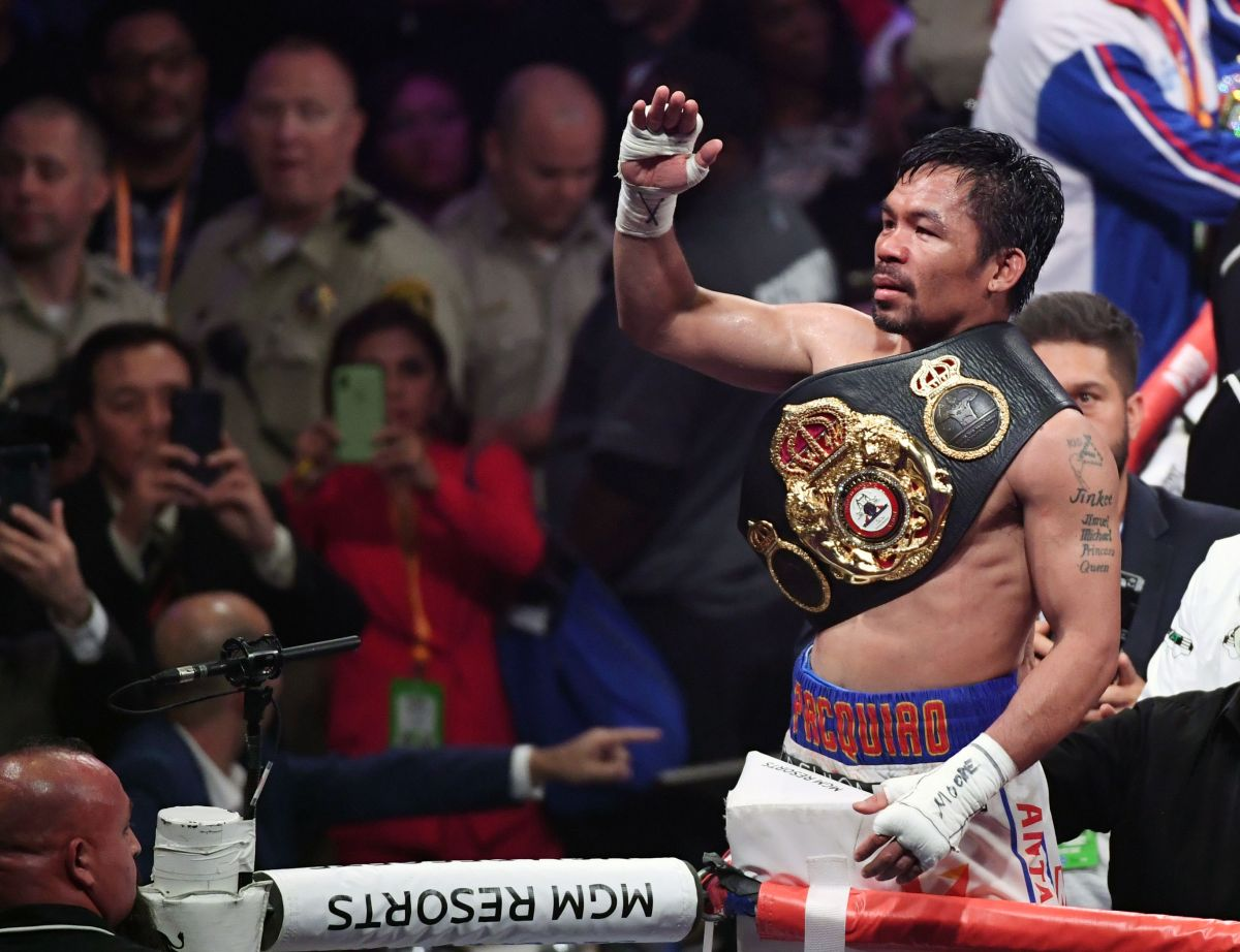"Manny Pacquiao warns that the fight against Ryan García is not closed and that ""it would be like an exhibition"" 