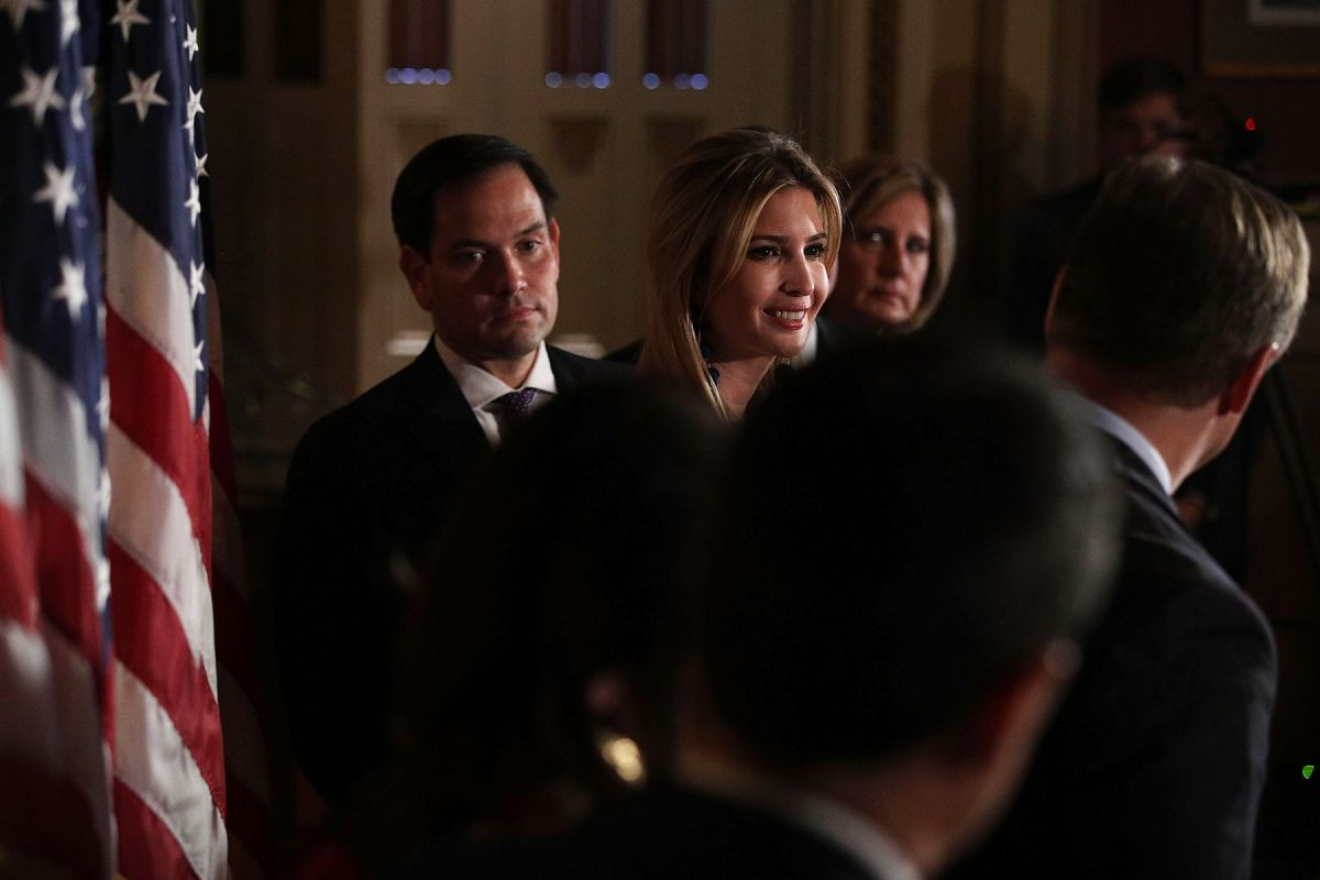 Marco Rubio Messages Ivanka Trump About Possible Challenge to the Senate | The State