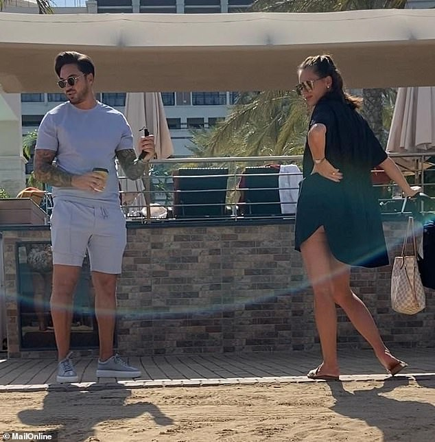 Spotted: Mario Falcone has been caught out living it up in Dubai during lockdown while posting old photos on Instagram giving the impression he is in the UK