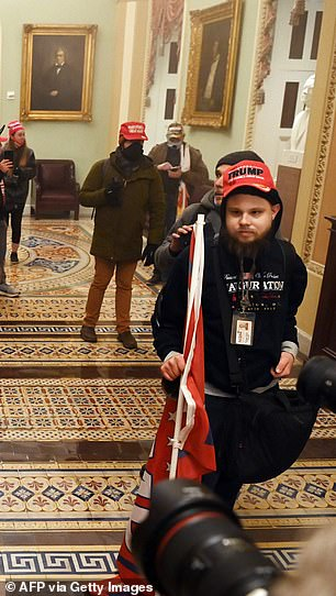 Maryland marketing company fires Trump rioter who stormed Capitol with his work pass