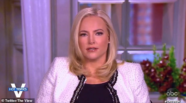 Meghan McCain on Thursday condemned Trump and his supporters in the wake of the violent siege of the US Capitol