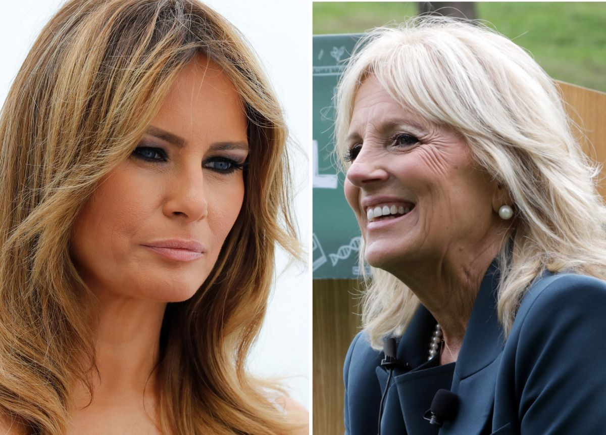 Melania Trump breaks with Jill Biden a tradition of first ladies | The State