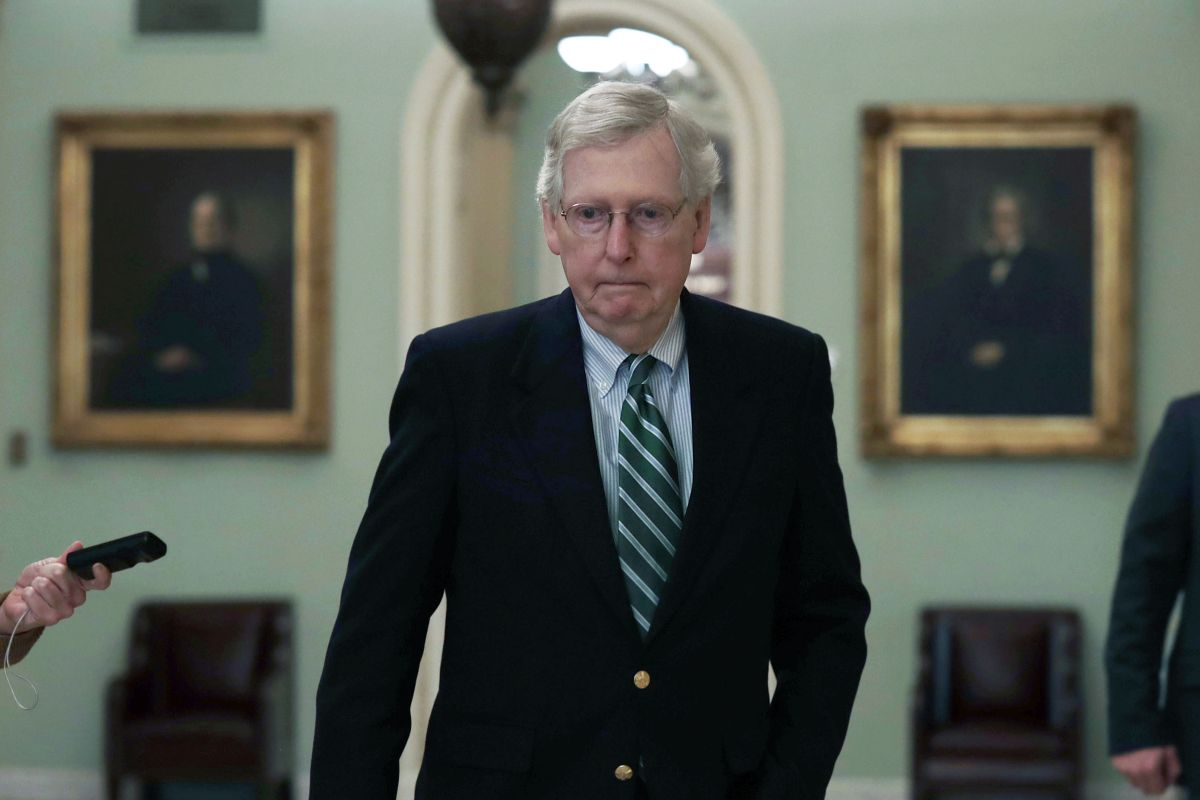 "Mitch McConnell refuses to vote for $ 2,000 aid for the third time, calling it ""socialism for the rich"" 