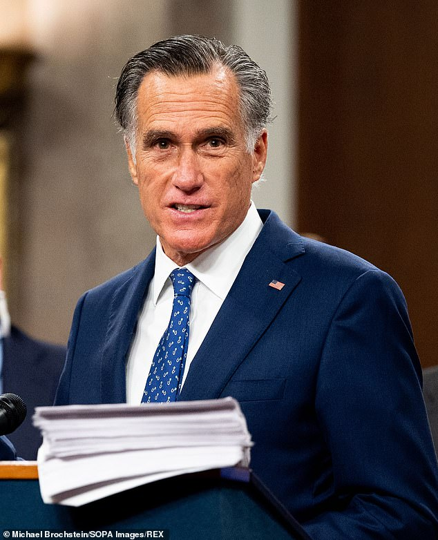 Mitt Romney blasts 12 Republican Senators who plan to object to certifying Joe Biden's win