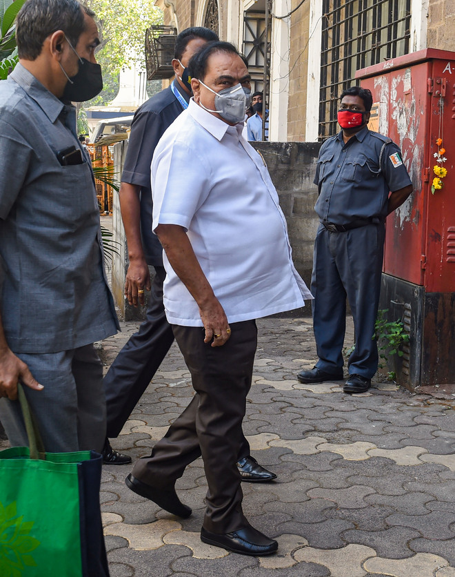 NCP leader Khadse grilled by ED in Pune land deal case