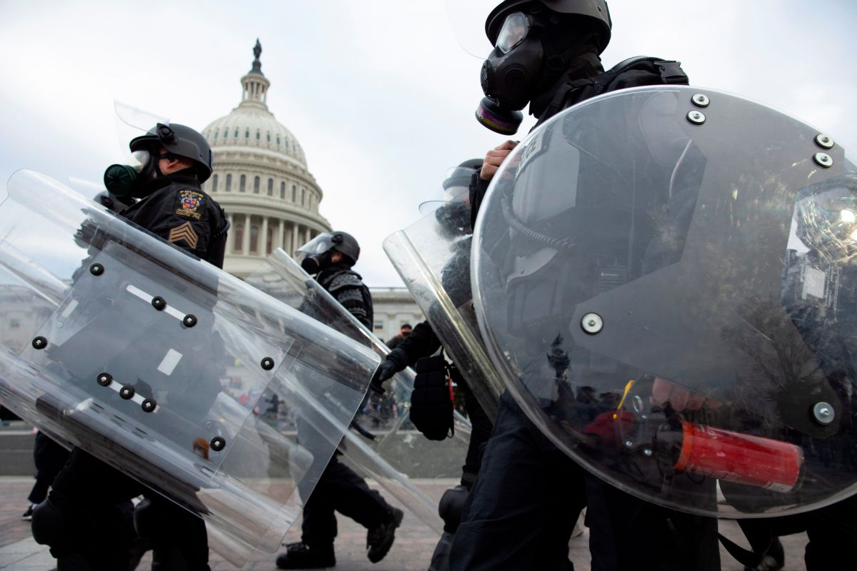 NYPD Investigates Police Officer for Allegedly Participating in Capitol Insurrection   The State
