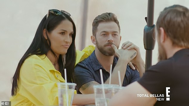 Nikki Bella reveals she is in THERAPY with Artem Chigvintsev
