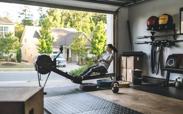 On the surging market of at-home fitness equipments