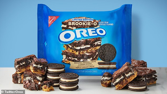 Oreo announces 'brookie' flavor with 3 layers of filling including creme, brownie, & cookie dough