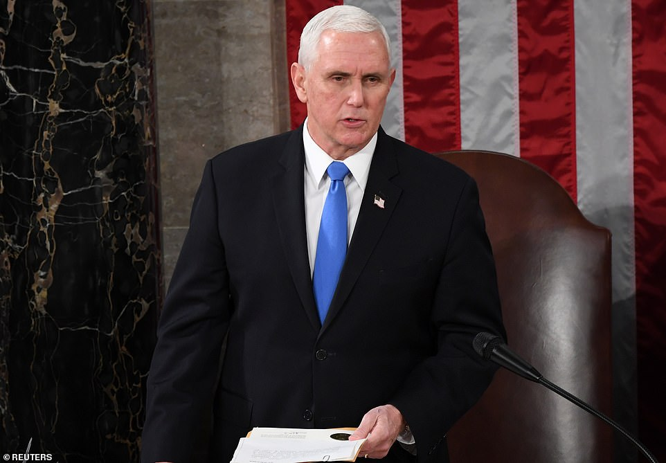 Pence publicly DEFIES Trump's demand to block Biden's confirmation