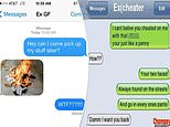People share their VERY scathing replies to unwanted texts from their desperate exes