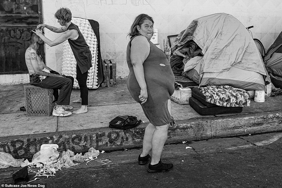Photographer who spent TEN YEARS on LA's notorious homeless hotspot reveals his work