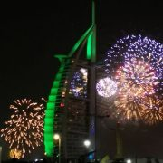 Photos: Gulf News readers share pictures of New Year's Eve celebrations and fireworks in the UAE