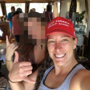 Pro-Trump woman shot dead in Capitol riots harassed husband's ex