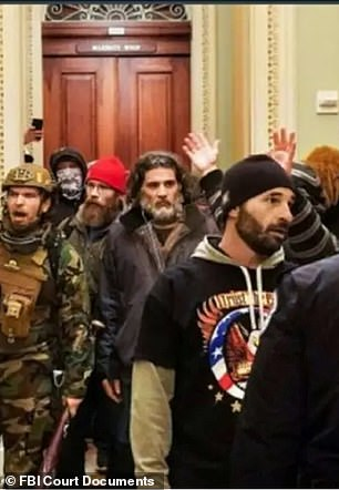 Proud Boys member displayed 'planning, determination and coordination' during the Capitol riots