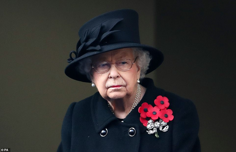 REBECCA ENGLISH reveals Queen took 'two seconds' to freeze out Harry from cenotaph ceremony