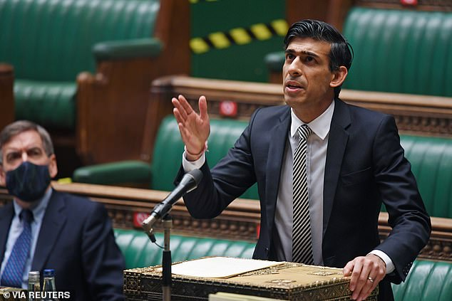 Rishi Sunak 'in Cabinet row over extra Universal Credit cash'