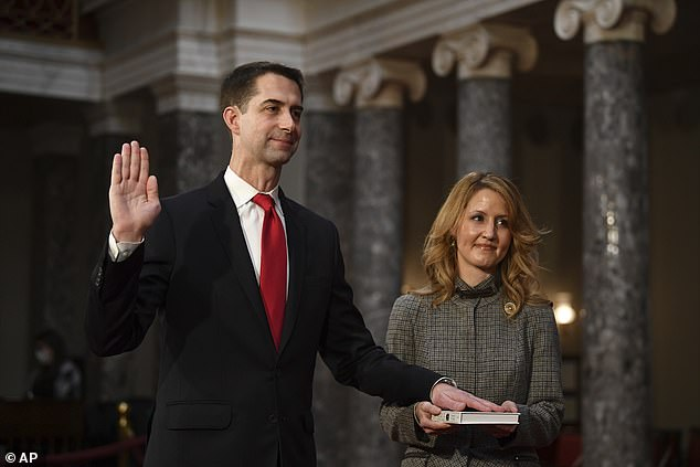 Rising GOP star Tom Cotton will not join Republican senators planning to challenge Biden's victory