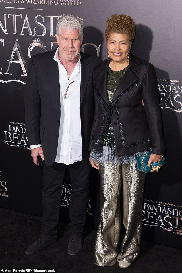 Ron Perlman's estranged wife 'needs a psychologist as she battles depression and anxiety'