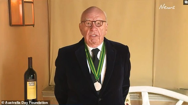 Rupert Murdoch says media needs to 'confront wave of censorship' and slams 'awful woke orthodoxy'