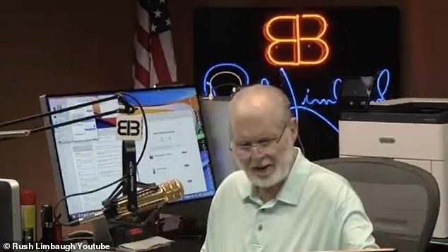 Rush Limbaugh rebukes those calling for an end to the unrest