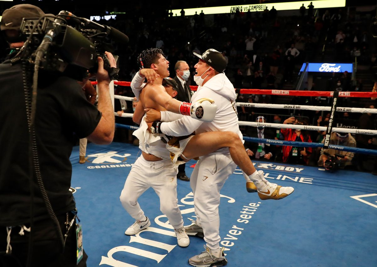 Ryan García wins his most difficult fight by knockout and goes crazy in the ring with Canelo Álvarez | The State