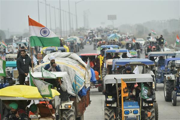 SC notice to farmers' unions on plea against proposed R-Day tractor rally