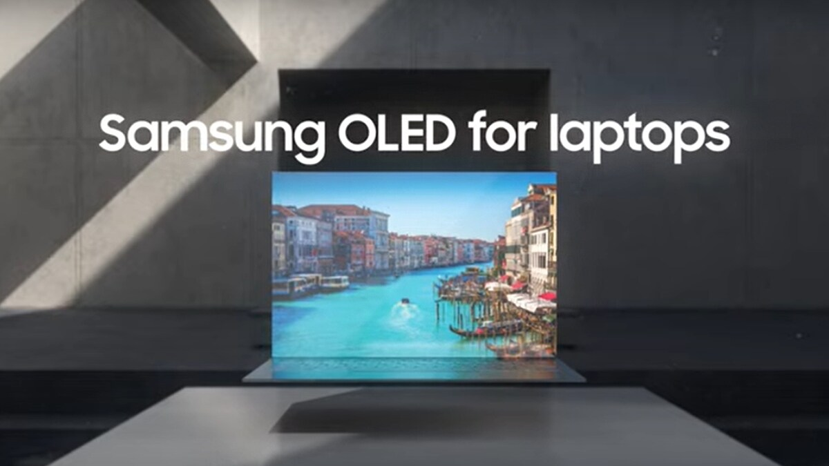 Samsung Teases New OLED Screens for Laptops With Superior Image Quality