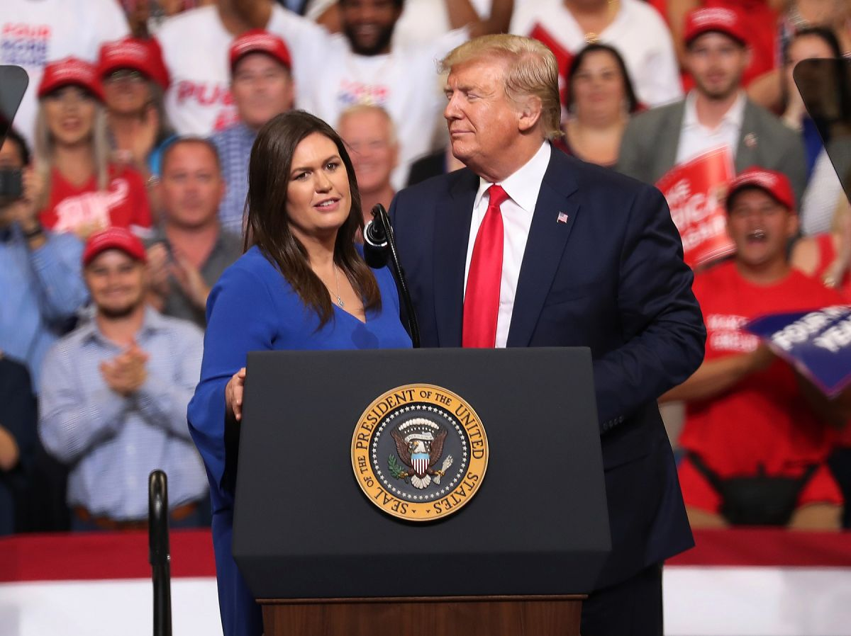 Sarah Sanders Runs for Governor of Arkansas and Will Measure the Strength of Trump's Move | The State