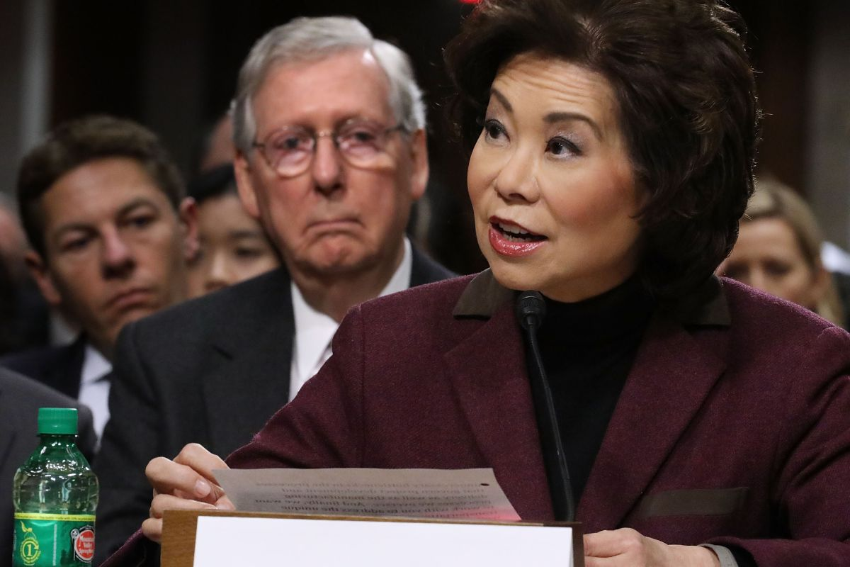 Secretary Elaine Chao is the first of Trump's Cabinet to resign after violence on Capitol Hill | The State