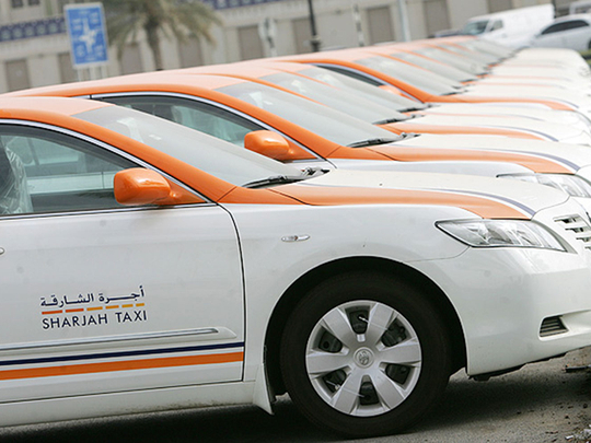 Sharjah Taxi plans to install surveillance cameras in 1,300 cabs