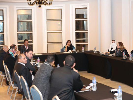 Sheikha Bodour Al Qasimi chairs first meeting of International Publishers Association in Cairo