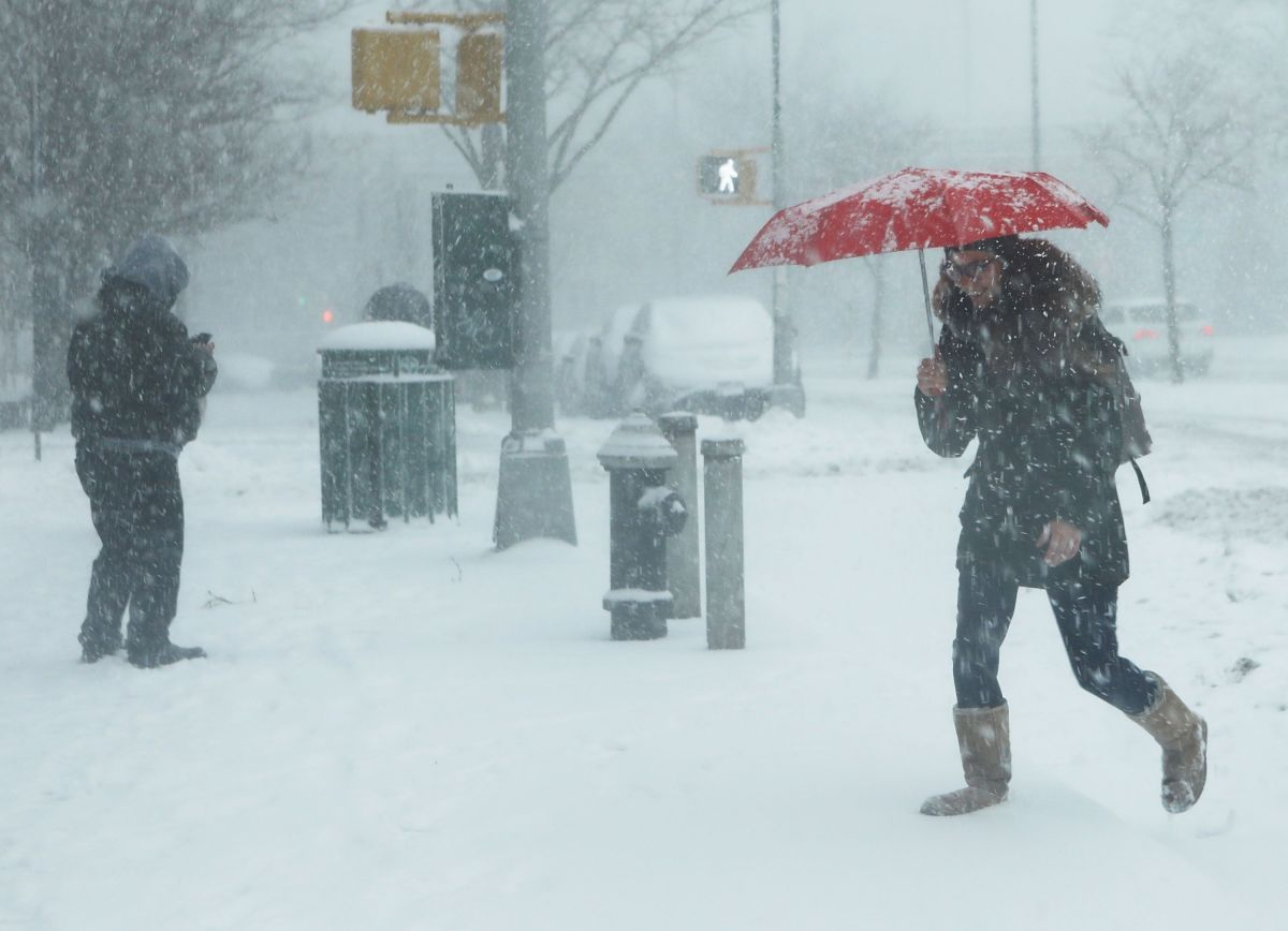 Snowstorm will affect at least 10 states, including regions of New York | The State