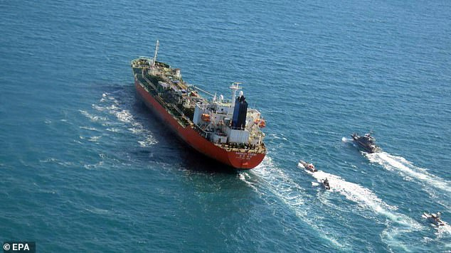 South Korea demands release of Gulf tanker seized by Iran