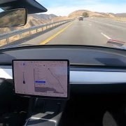 Tesla Model 3 self-drives itself from Los Angeles to Silicon Valley with ZERO human intervention