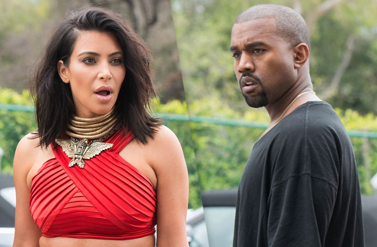 They claim that Kim Kardashian and Kanye West are divorcing after seven years of marriage | The State