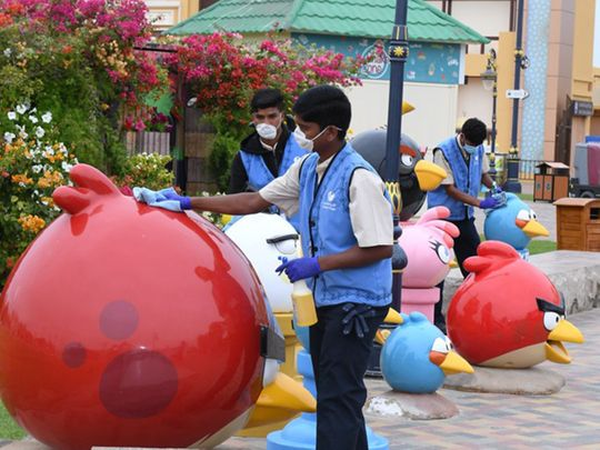 This is how inspectors secured New Year celebration sites in Dubai