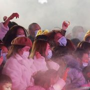 Thousands gather for pop concert in Wuhan after it 'stamped out virus' with draconian lockdown